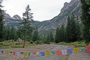 Bei der Reintalangerhütte_Wanderung Reintal auf die Zugspitze
