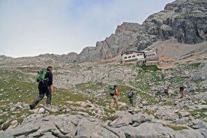 Knorrhütte_Wanderung Reintal auf die Zugspitze