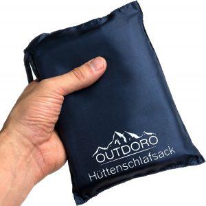 Outdoro Reiseschlafsack im Hüttenschlafsack Vergleich