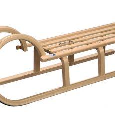 Holzschlitten Vergleich – Die besten Rodel aus Holz
