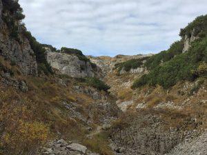 Wanderung über das Gottesackerplateau_Blick auf den Plateau-Sattel