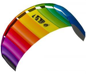 Invento Smyphony Beach III 1.8 Rainbow Zweileiner Lenkmatte im Lenkdrachen-Vergleich
