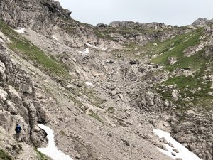 Krumbacher Höhenweg zur Mindelheimer Hütte_Roßgundscharte