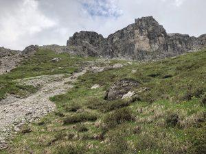 Krumbacher Höhenweg zur Mindelheimer Hütte_Weg zur Roßgundscharte