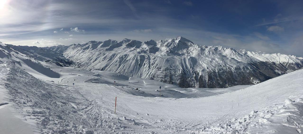Skifahren in Hochgurgl_Panorama im Skigebiet
