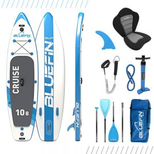 Bluefin SUP aufblasbares Stand Up Paddle Board Set
