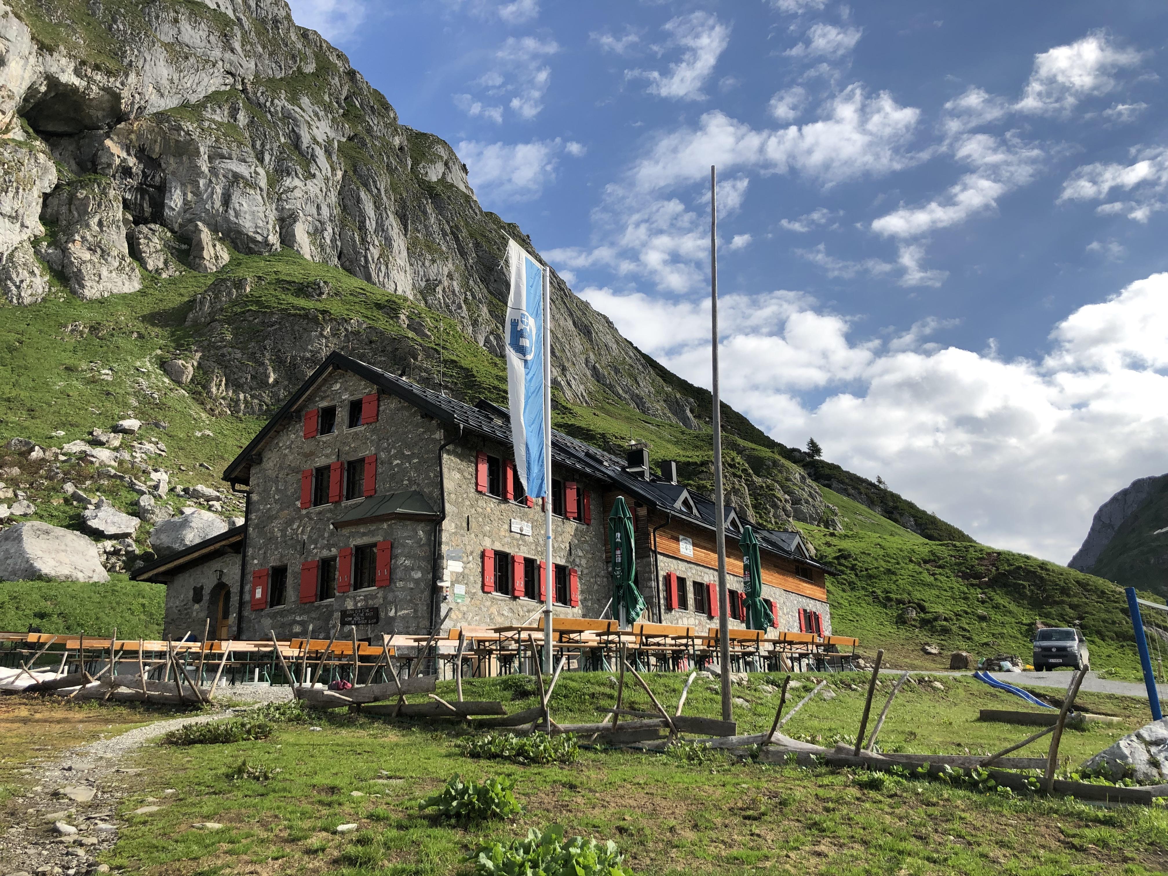 Wanderung vom Spullersee über die Ravensburger Hütte nach Zug_