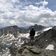 Kraspesspitze_Blick Richtung Wildeskar