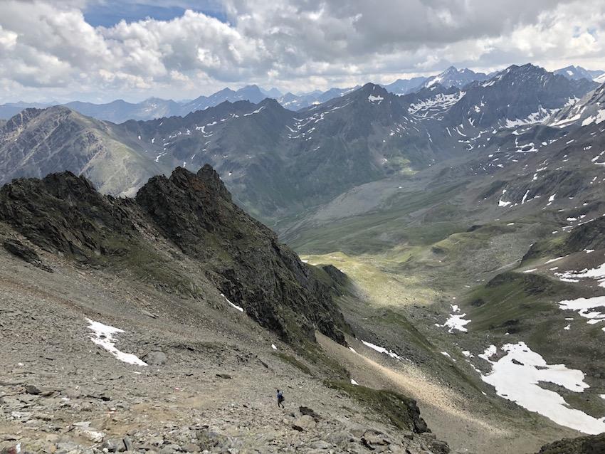 Zwieselbacher Roßkogel_Abstieg durch das Walfeskar