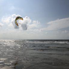 Kiten in St. Peter-Ording