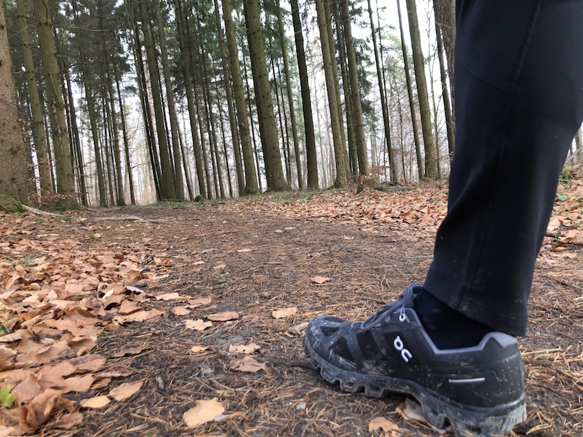 On Cloudventure Waterproof im Wald