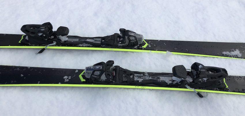 Bindung der WEDZE Piste 900 Ski von Decathlon