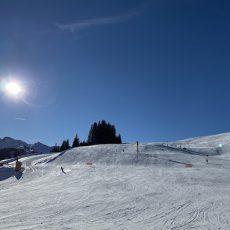 Skifahren in Saalbach-Hinterglemm_Abfahrt am Zwölferkogel