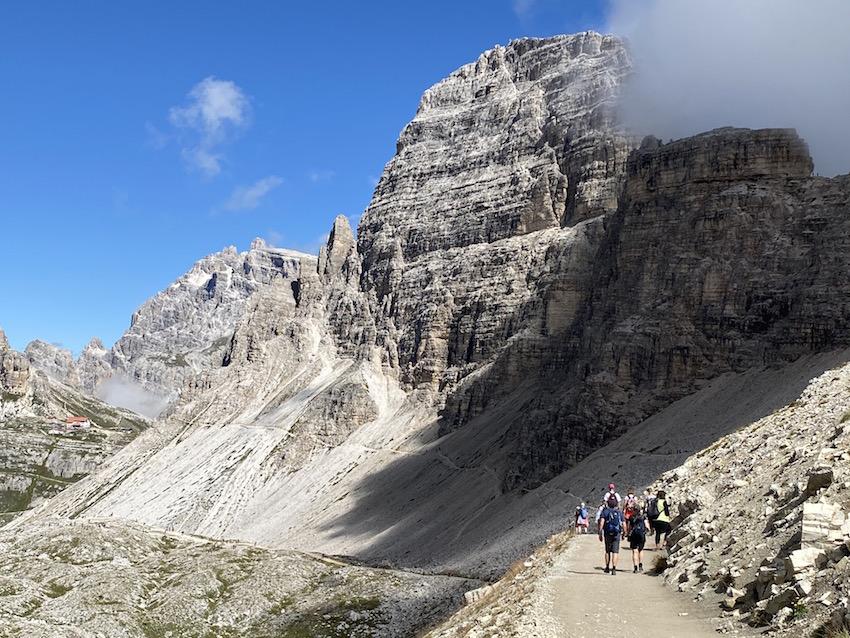 3-Zinnen-Runde_Übergang zur Dreizinnenhütte